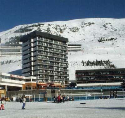 4 Pers Studio ski-in ski-out / PELVOUX 55