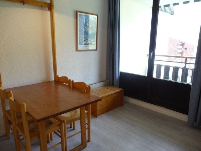Studio cabine 4 Pers skis aux pieds / BIELLAZ 21