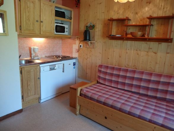 Studio + cabin 4 Pers ski-in ski-out / CARLINES II 33 A