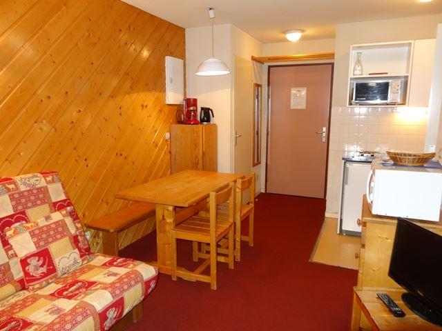 4 Pers Studio + cabin ski-in ski-out / OREE DES PISTES 53