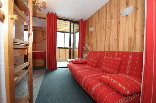4 Pers Studio + cabin ski-in ski-out / SKI SOLEIL I 1011