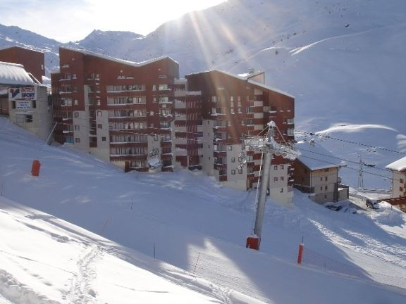 4 Pers Studio + cabin ski-in ski-out / SKI SOLEIL 1511