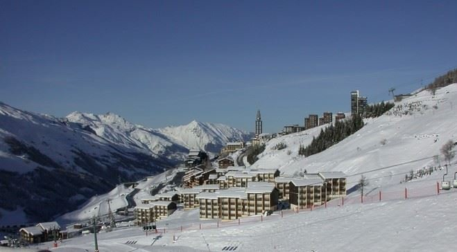 3 Rooms 5 Pers ski-in ski-out / SKI SOLEIL II 2504
