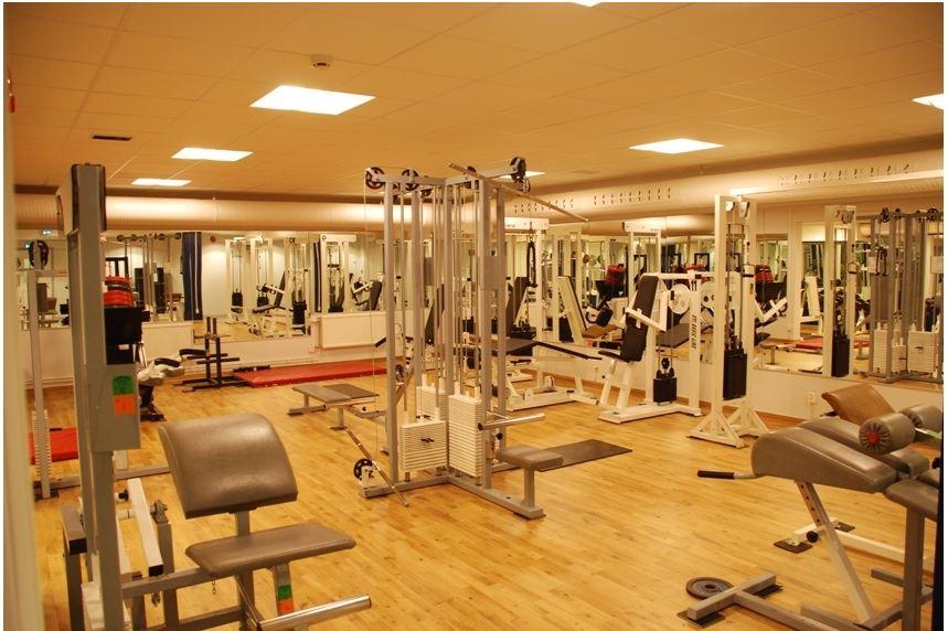 Militärhemmet gym