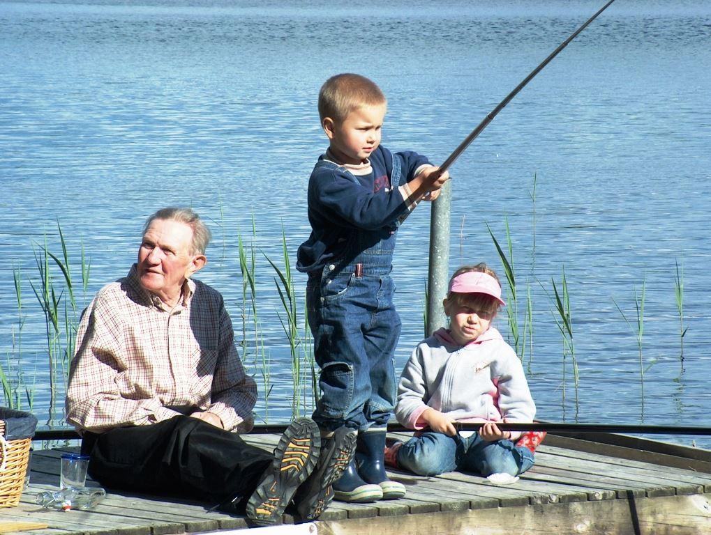 Fish in Håråns fishingarea, Vaggeryds kommun