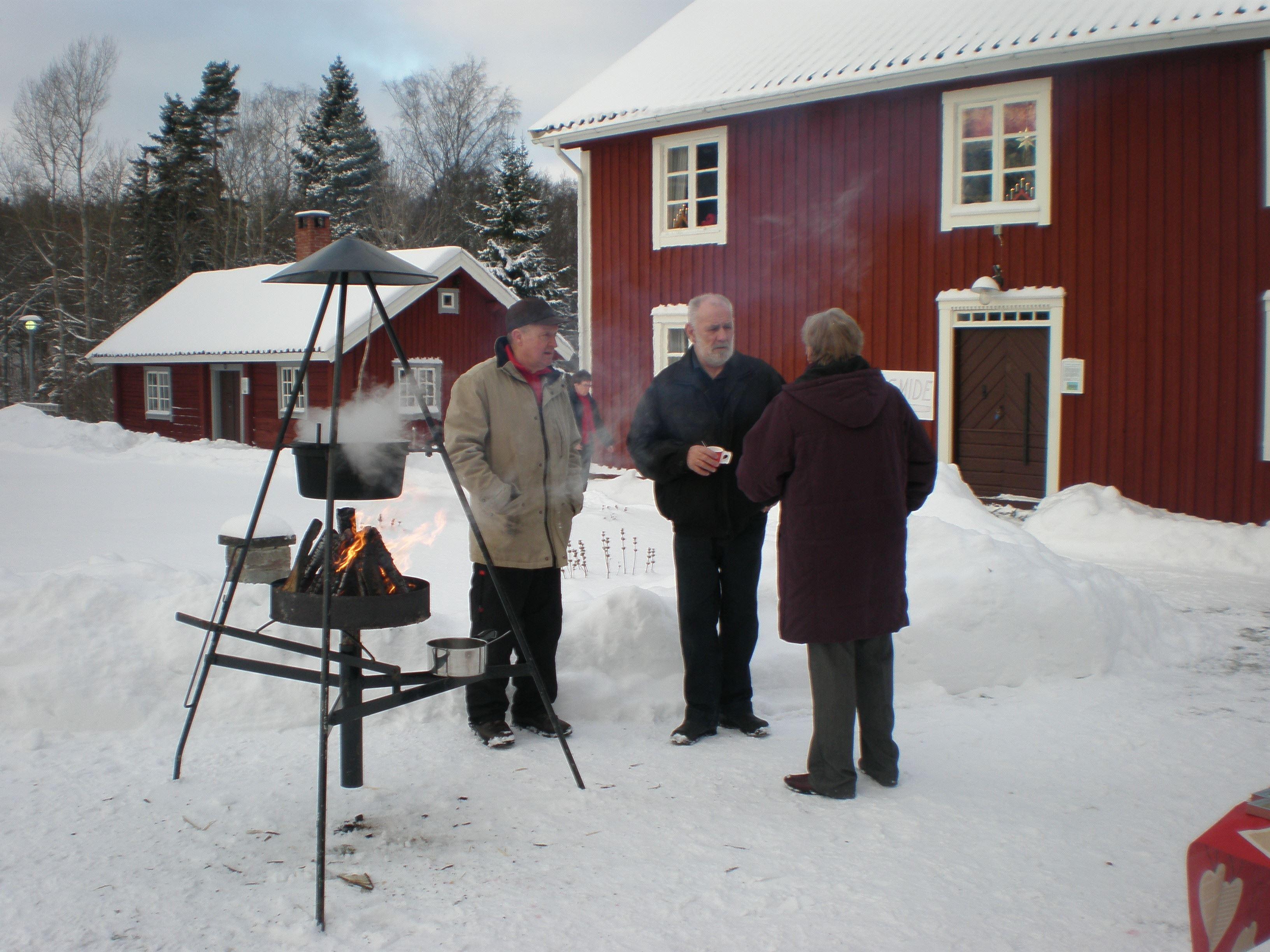 Julmarknad i Brandstorps hembygdsgård