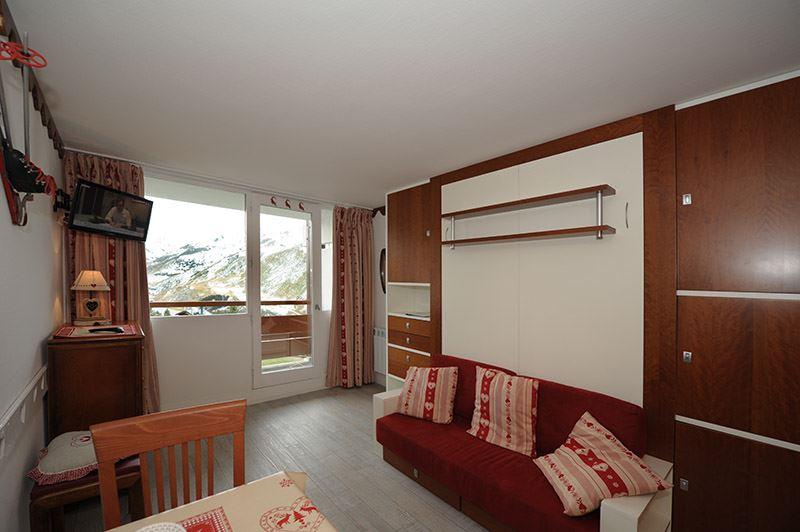 2 Pers Studio ski-in ski-out / LES CHARMETTES 513