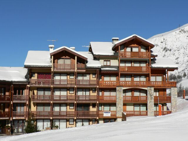 2 Rooms cabin 5 Pers ski-in ski-out / EPERVIERE 15