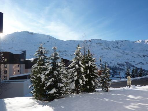 Studio cabine 5 Pers skis aux pieds / MELEZES 63