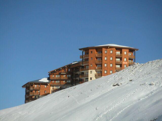 4 Pers Studio + cabin ski-in ski-out / NECOU 620