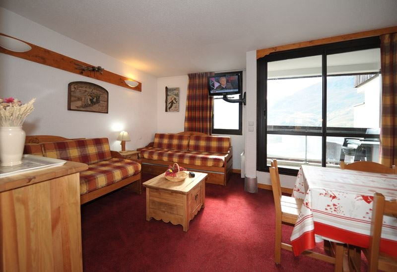 2 Rooms 5 Pers ski-in ski-out / SOLDANELLES A 506