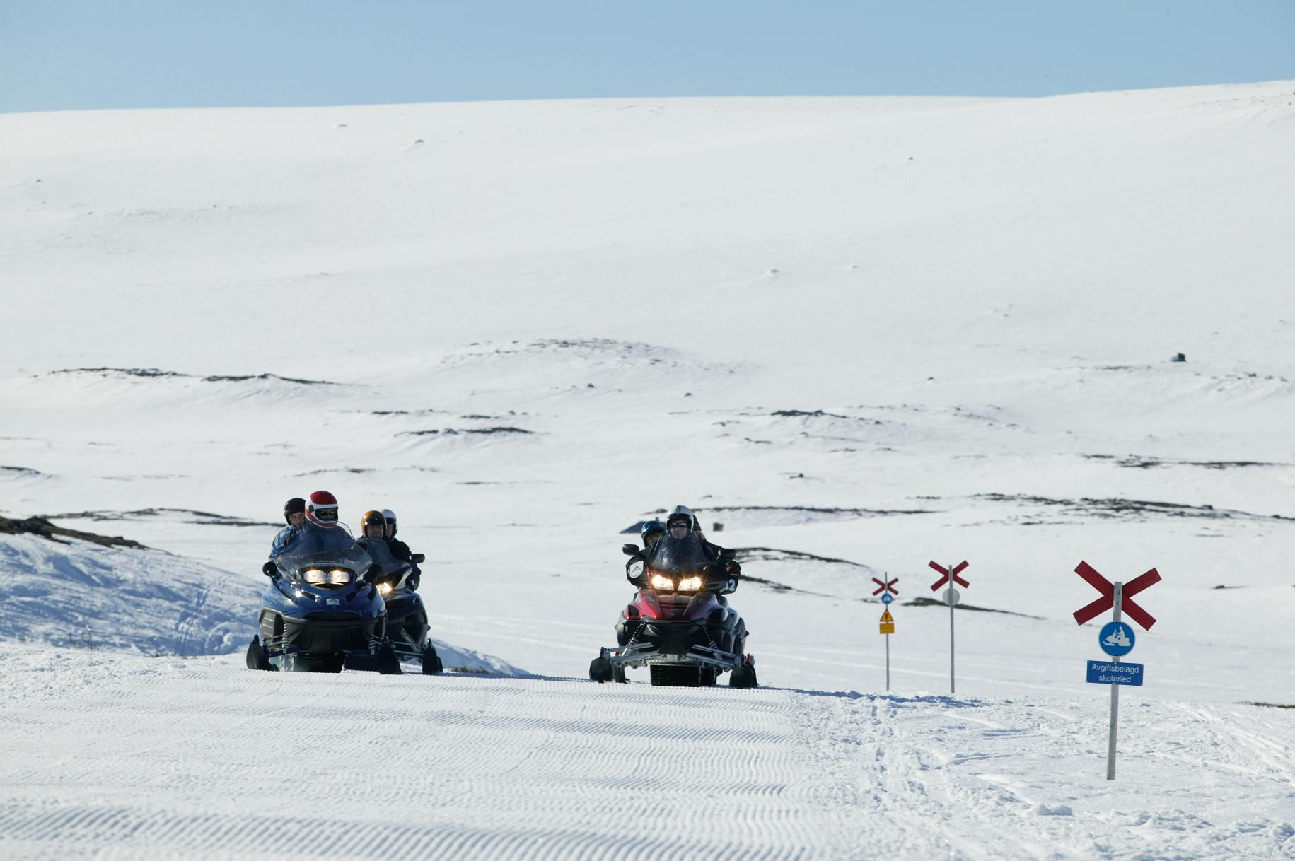 Funäsfjällen Snowmobile Pass - Trail fee