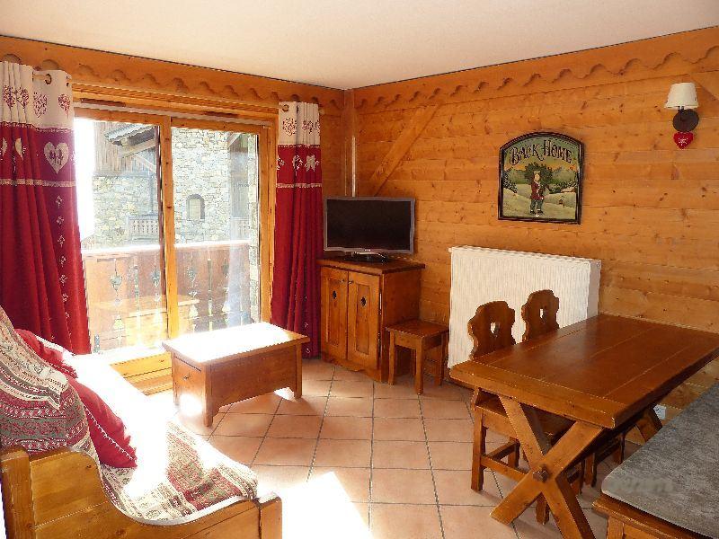 2 Rooms cabin 6 Pers ski-in ski-out / LES ALPAGES DE REBERTY 1
