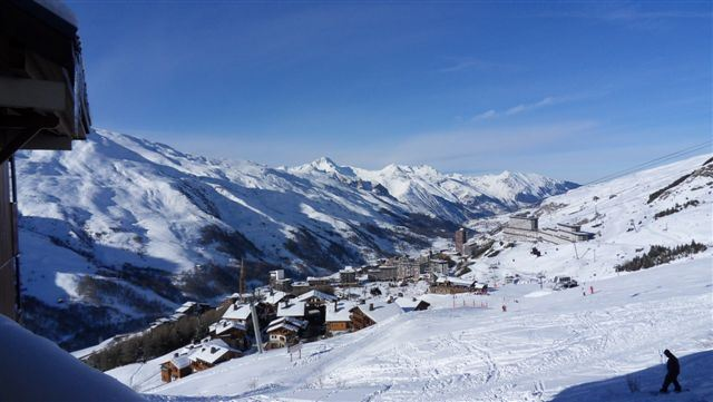 Studio cabine 3 Pers skis aux pieds / NECOU 503
