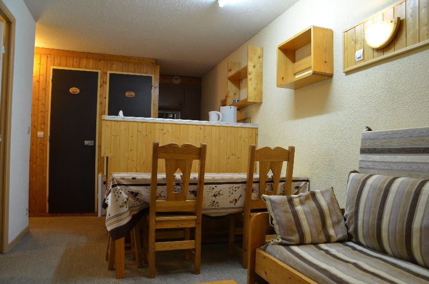 Studio cabin 4 Pers ski-in ski-out / VILLARET 426