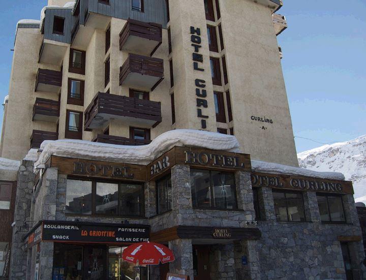 Lägenhet för upp till 6 personer med 2 rum på Curling A - Tignes