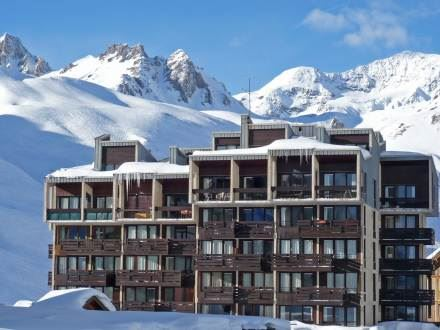 Leilighet for opp til 7 personer med 3 rom på Grand Tichot - Tignes