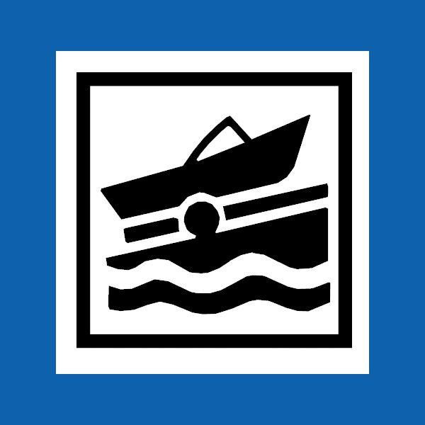 Båtramp - sjösättningsramp i sjön Femlingen