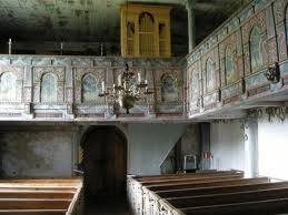 The old church in Drev