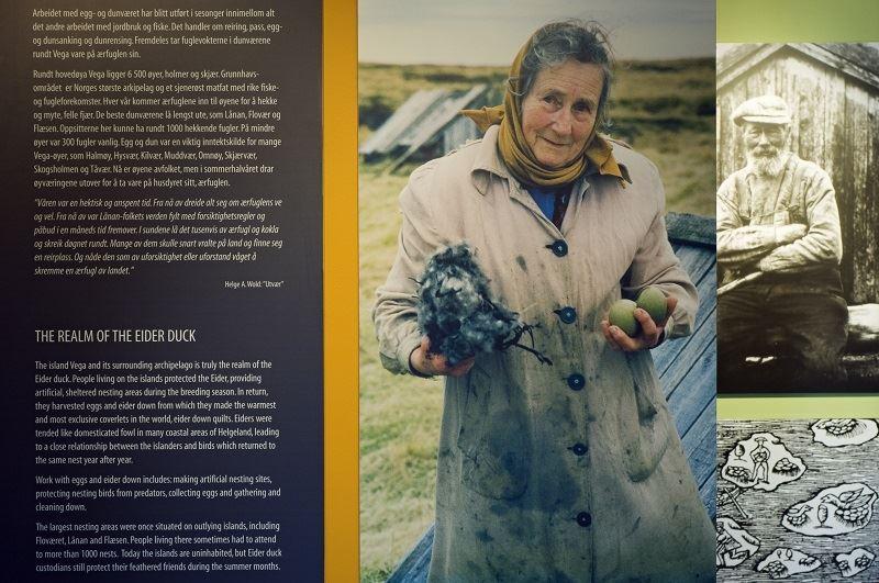 Orsolya Haarberg,  © Helgeland Reiseliv as, E-huset historie