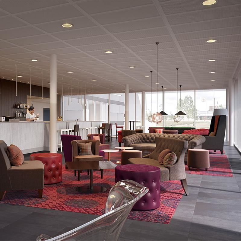 © TenjinVisual.Radisson.BridgetotheFuture.Lounge , Park Inn by Radisson Lund