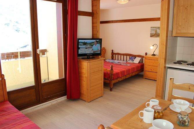 REINE BLANCHE 11 / 2 ROOMS 4 PERSONS - 2 SILVER SNOWFLAKES - VTI