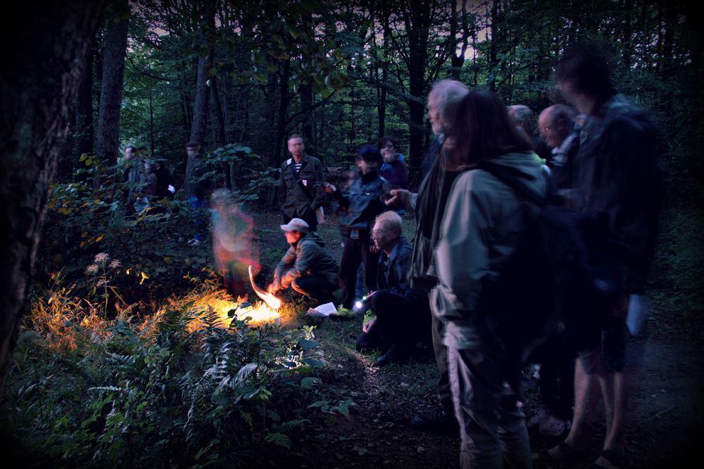 Foto Teresa Starkenberg, Fladdermussafari på Hovdala