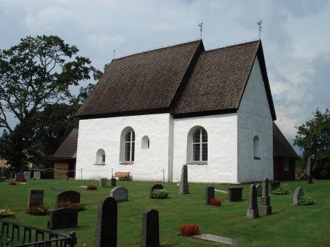 Die alte Kirche von Jät