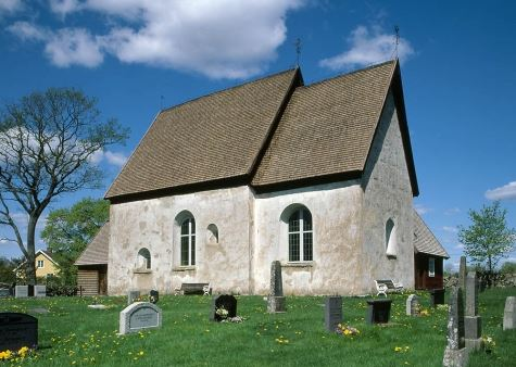 The old church in Jät