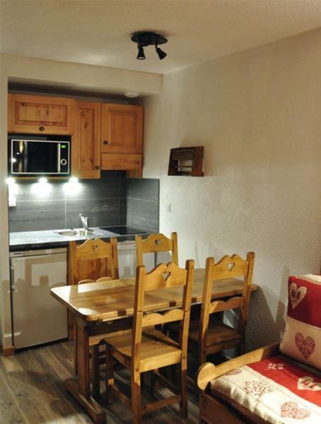 Lauzières 508 /Appartement 2 pièces cabine 4 personnes confort