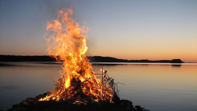 Walpurgis Night in Hällaryd