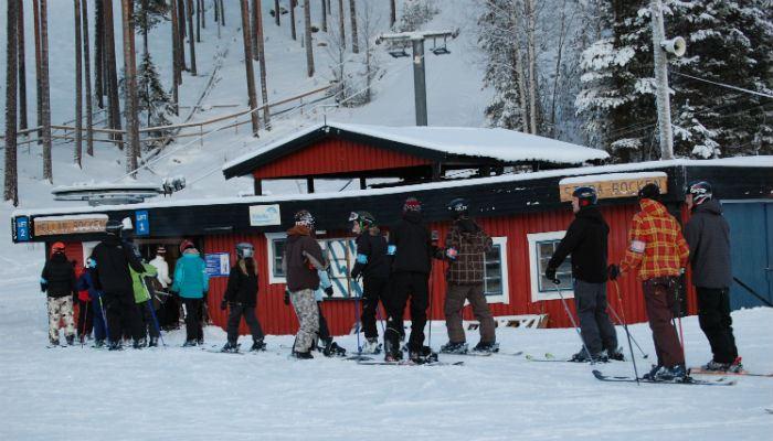 Bocksliden - Lyckseles skidsportanläggning