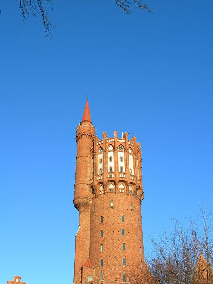 Foto: Turistbyrån Landskrona-Ven, Gamla vattentornet - The Old Water Tower