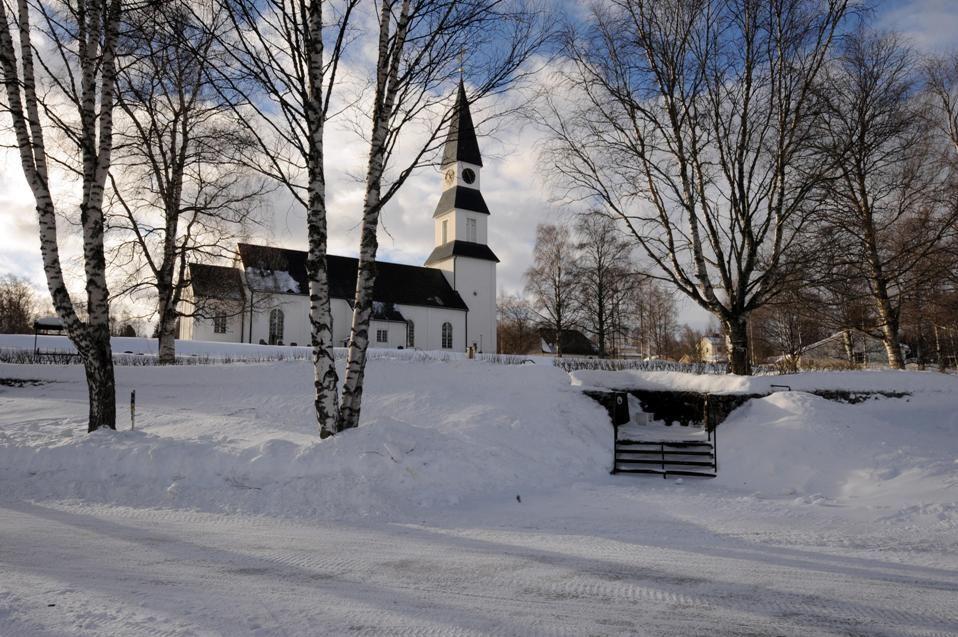 Särna Kyrka vinter
