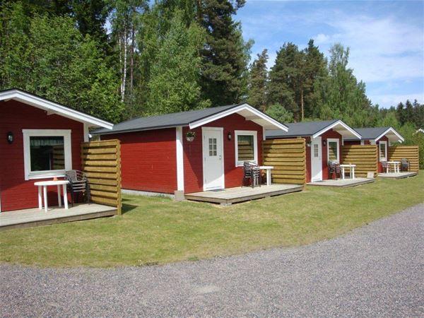 Lovsjöbadens Camping/Ferienhäuser