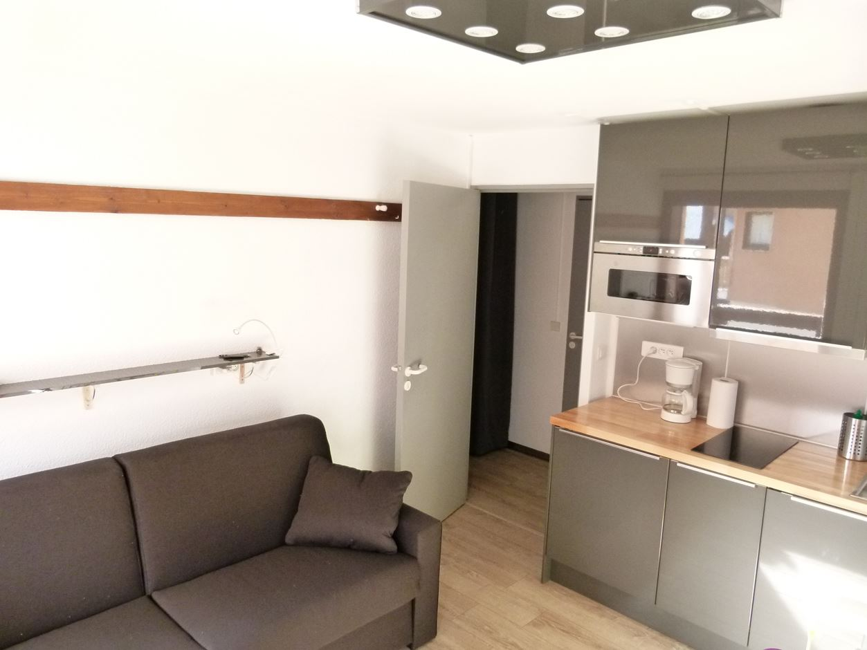 Reine Blanche 063 / Studio cabin 3 people comfort