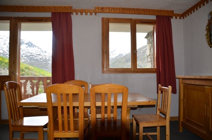 3 Rooms 6/8 Pers ski-in ski-out / BOSSON 103