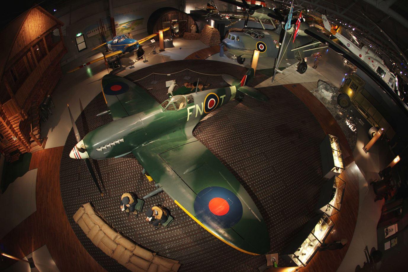 Anders Utgaard, Spitfire på Norsk Luftfartsmuseum