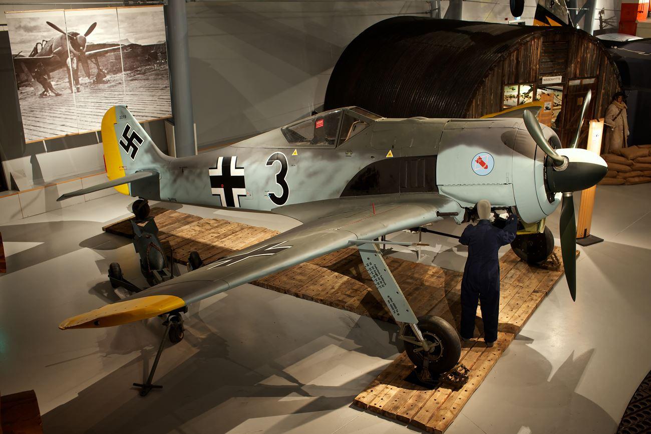 Anders Utgaard, Focke Wulf på Norsk Luftfartsmuseum