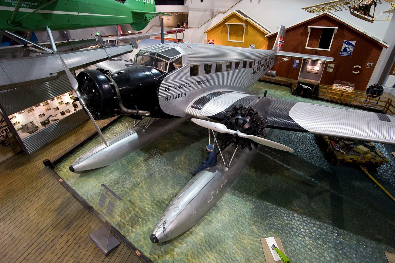 Anders Utgaard, Junkers Ju 52