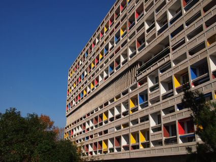 La Cité radieuse - Le Corbusier- Visites FR/GB samedi 10h/ Tours in english only on Saturday 10am