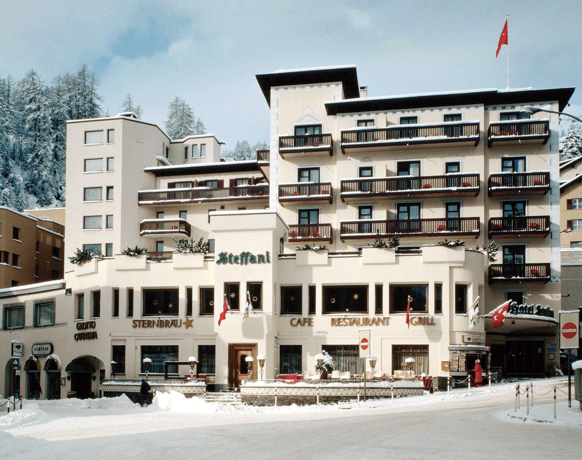 Hotel Stefani - St. Moritz