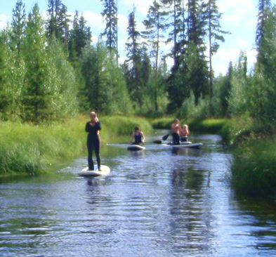Aurora Borealis, Aurora Borealis Adventures – Rafting and Stand-up paddling
