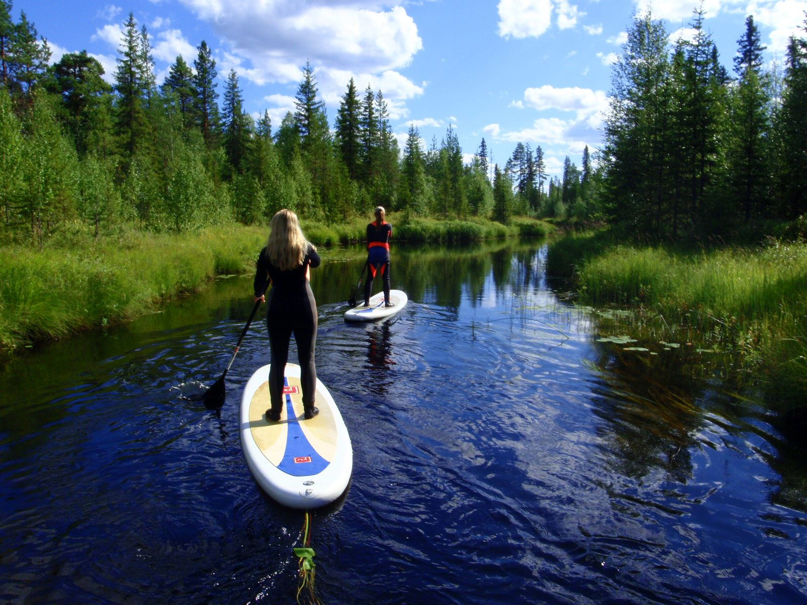 Aurora Borealis Adventures – Rafting and Stand-up paddling