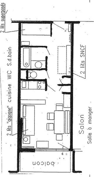 SCHUSS 2 / STUDIO 5 PERSONNES - 1 FLOCON BRONZE - CI
