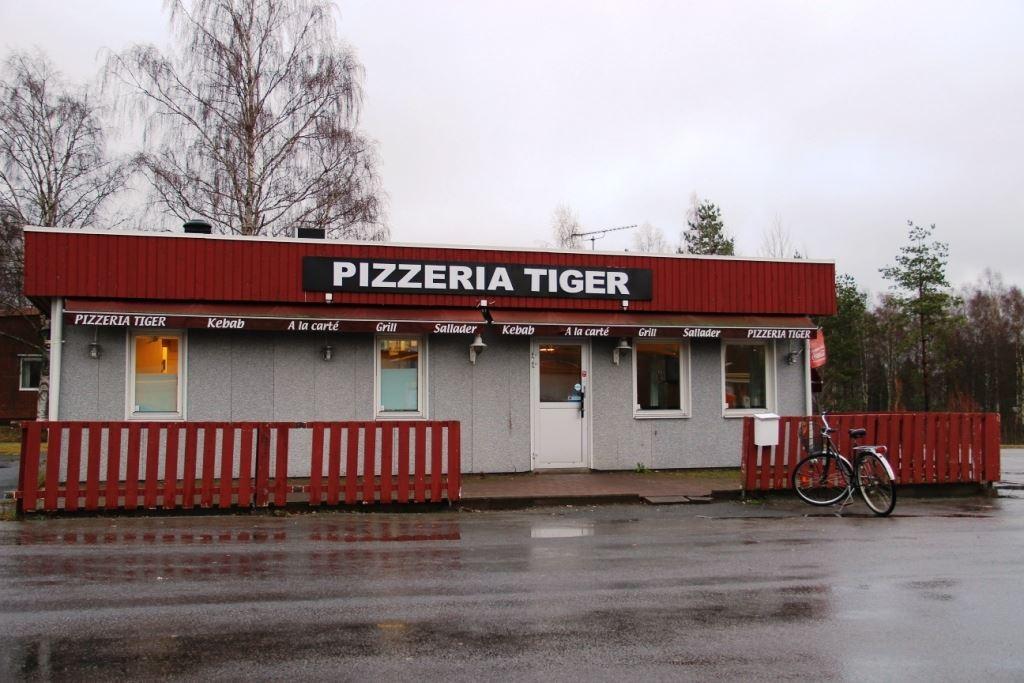 Vaggeryds kommun, Pizzeria Tiger i Vaggeryd