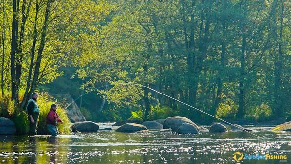 Double-hand fly-fishing course, 2 nights