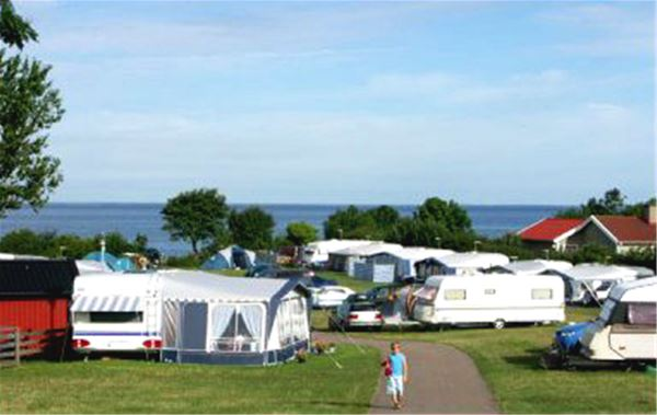 Camping pitch Blue carvan/motorhome incl electricity/water/sewage (approx 80 m²)