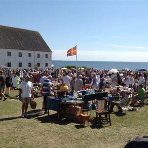 Sweden's southernmost flea market
