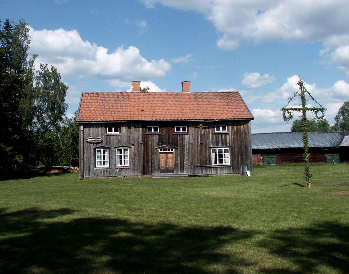 Lögdeå Museum, Åbergsgården